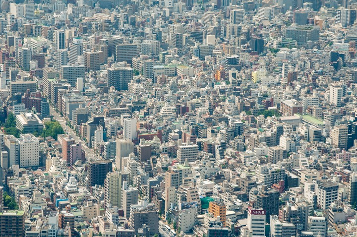 View from the Tokyo Skytree