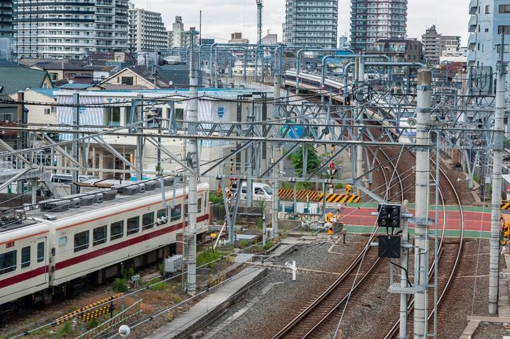 Train in Tokyo