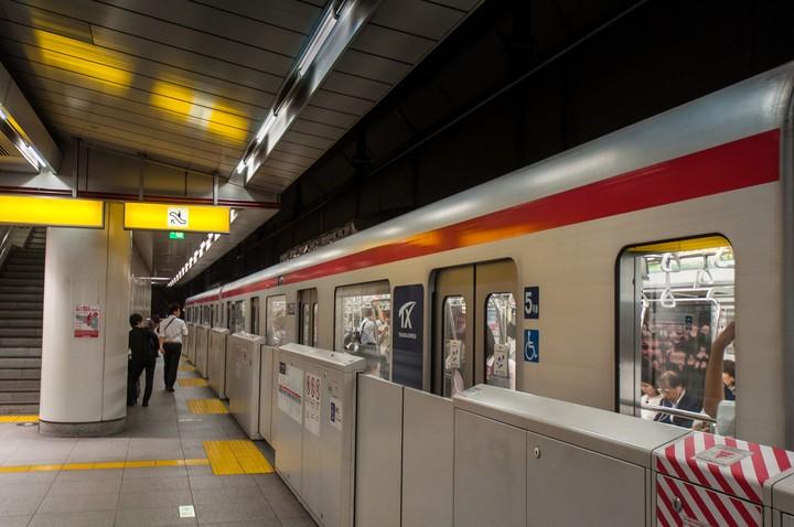 Tsukuba Express in Tokyo