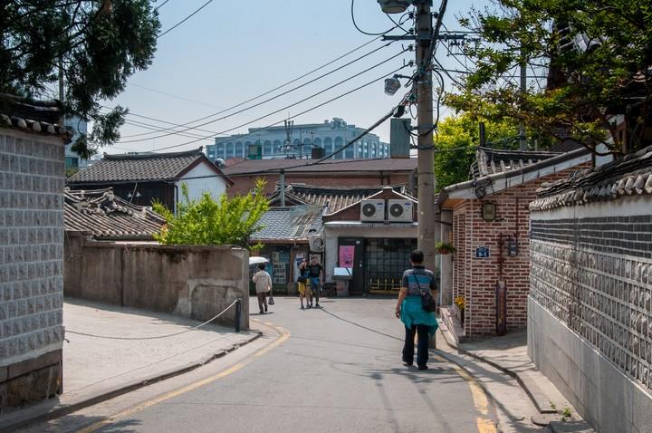 Alley in Bukchon Hanok Village