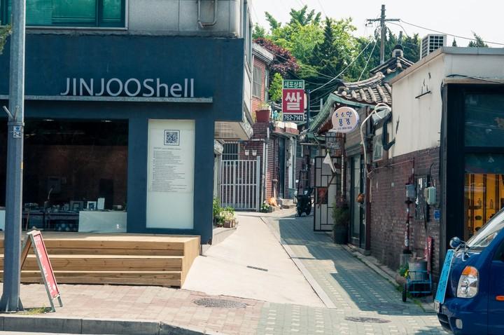 JINJOOShell near Bukchon Hanok Village