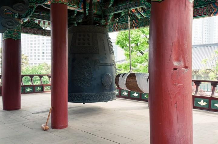 Bongeunsa Temple bell