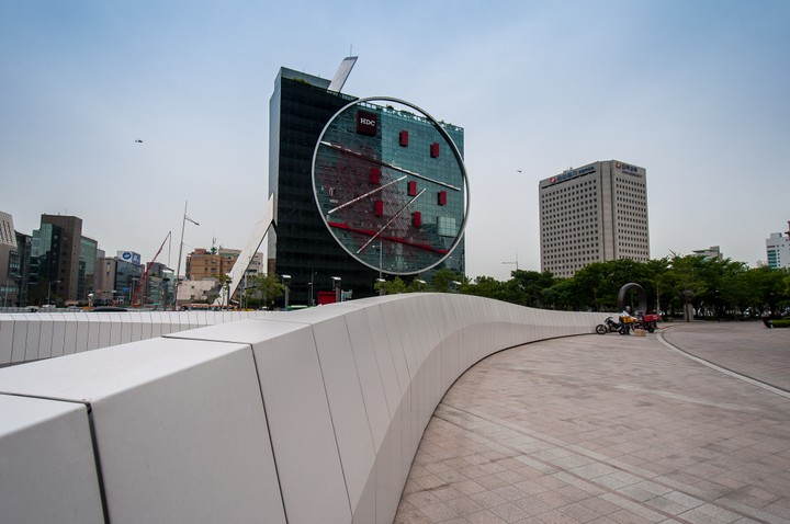 Office buildings in Gangnam