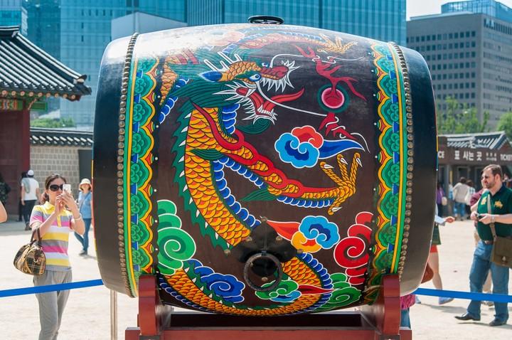 Big drum at Geunjeogmum