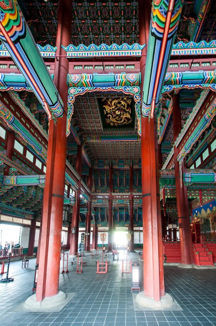 Inside of building at Geunjeogmum