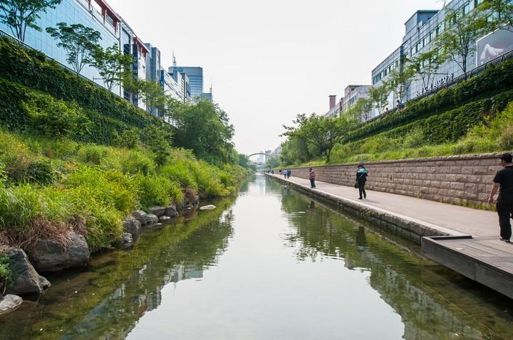 View of Cheonggyecheon