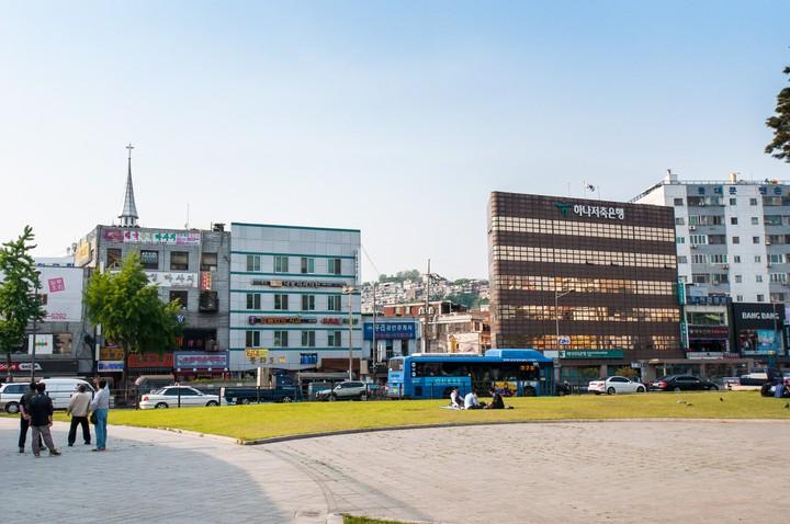 Street view of Seoul