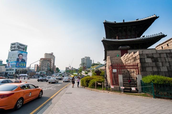 Area near Dongdaemun Design Plaza