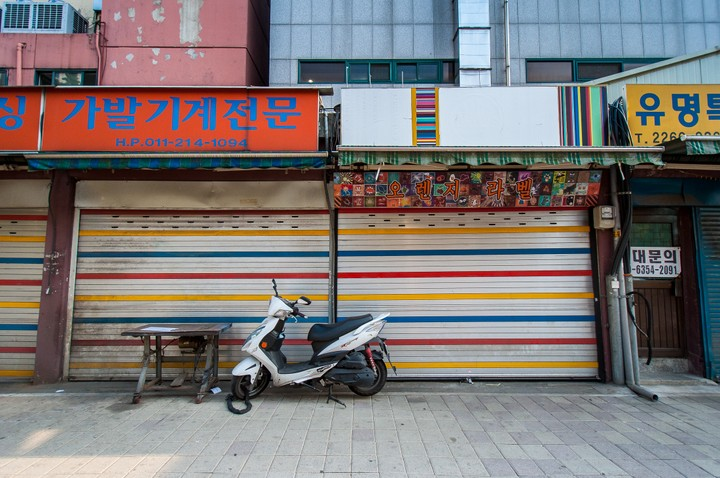 Typical korean shutters