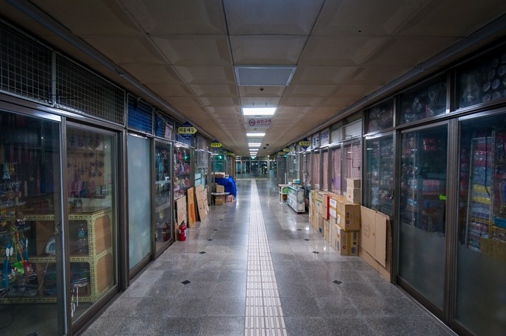 Underground shopping mall in Seoul