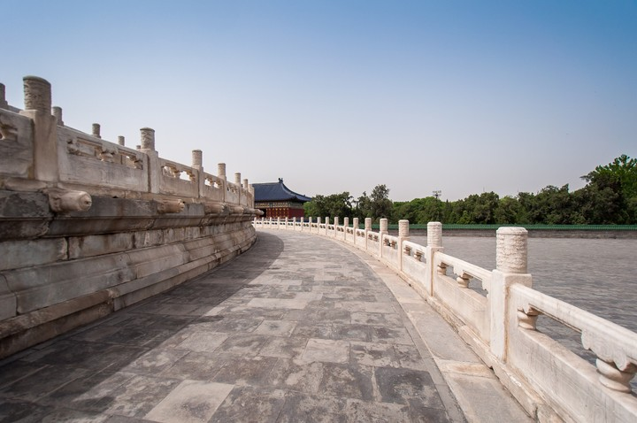 Hall of prayer for good harvests at at the Temple of Heaven in Beijing