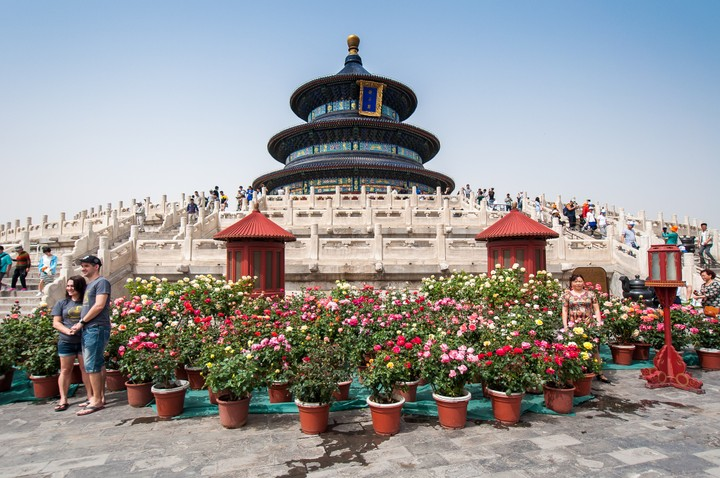 Hall of prayer at the Temple of Heaven in Beijing