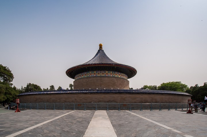 View at the Temple of Heaven in Beijing