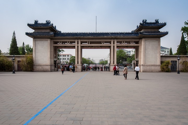 Entrance of the Temple of Heaven in Beijing
