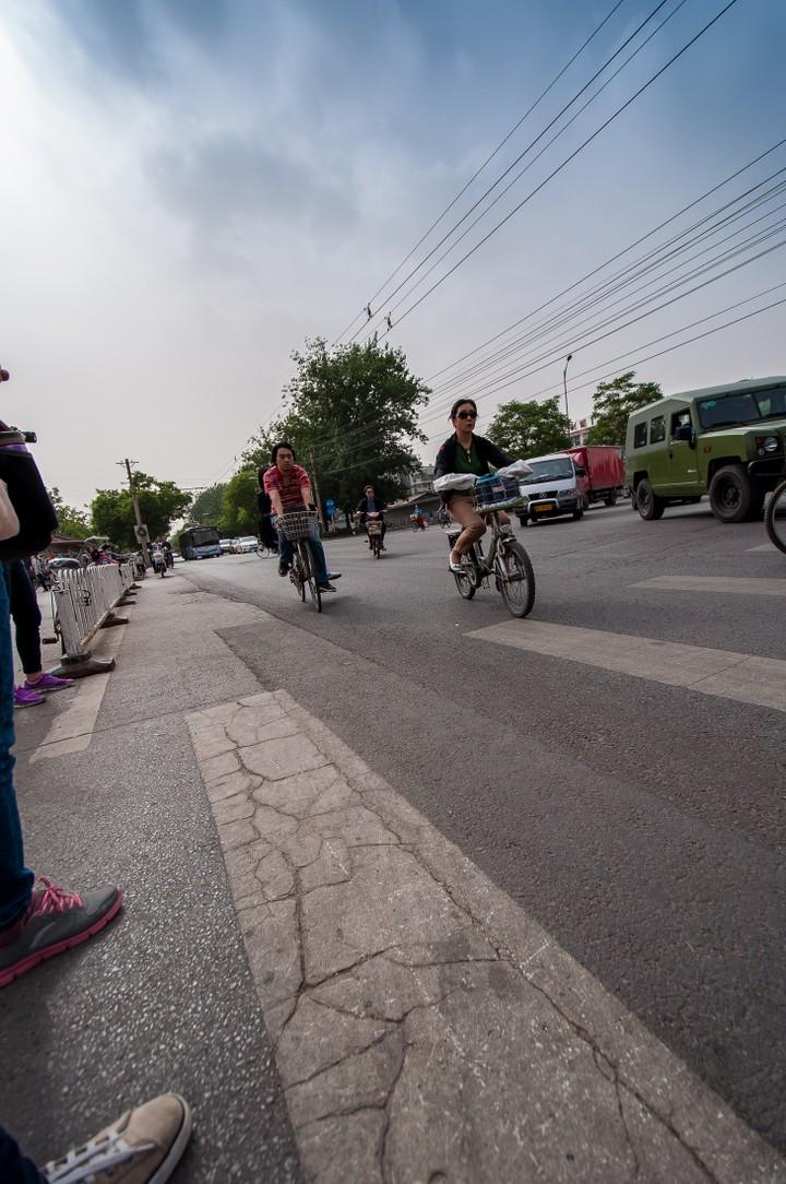 Cyclists in Beijing