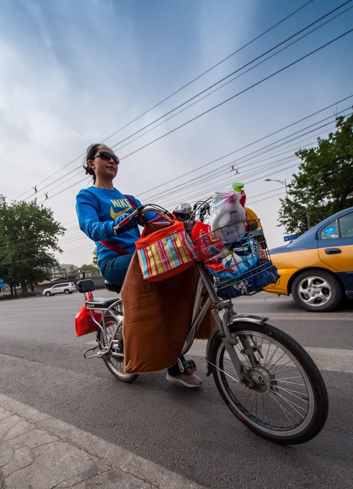 Cyclist in Beijing