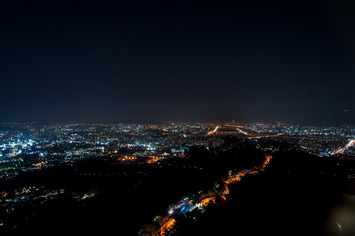 View from the N-Seoul tower