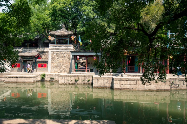 Canals at the Summer Palace in Beijing