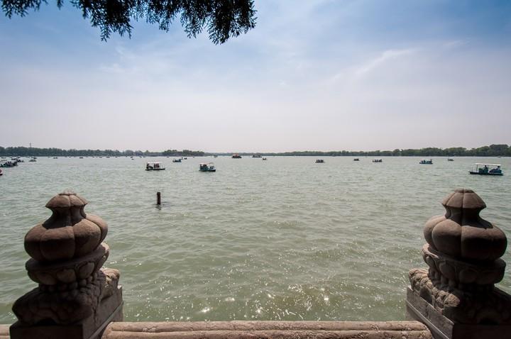 Kunming Lake at the Summer Palace in Beijing