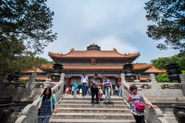 Tower of Buddhist Incense at the Summer Palace in Beijing