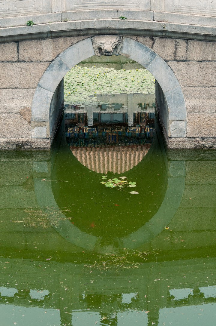 Bridge at the Summer Palace in Beijing