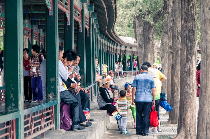 Long Gallery at the Summer Palace in Beijing