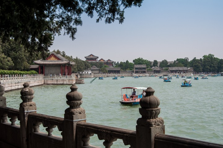 Kunming Lake at the the Summer Palace in Beijing
