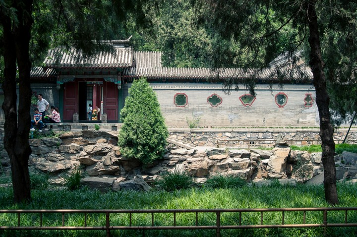 Gardens at the Summer Palace in Beijing