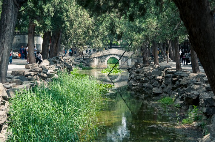 Stream at the Summer Palace in Beijing
