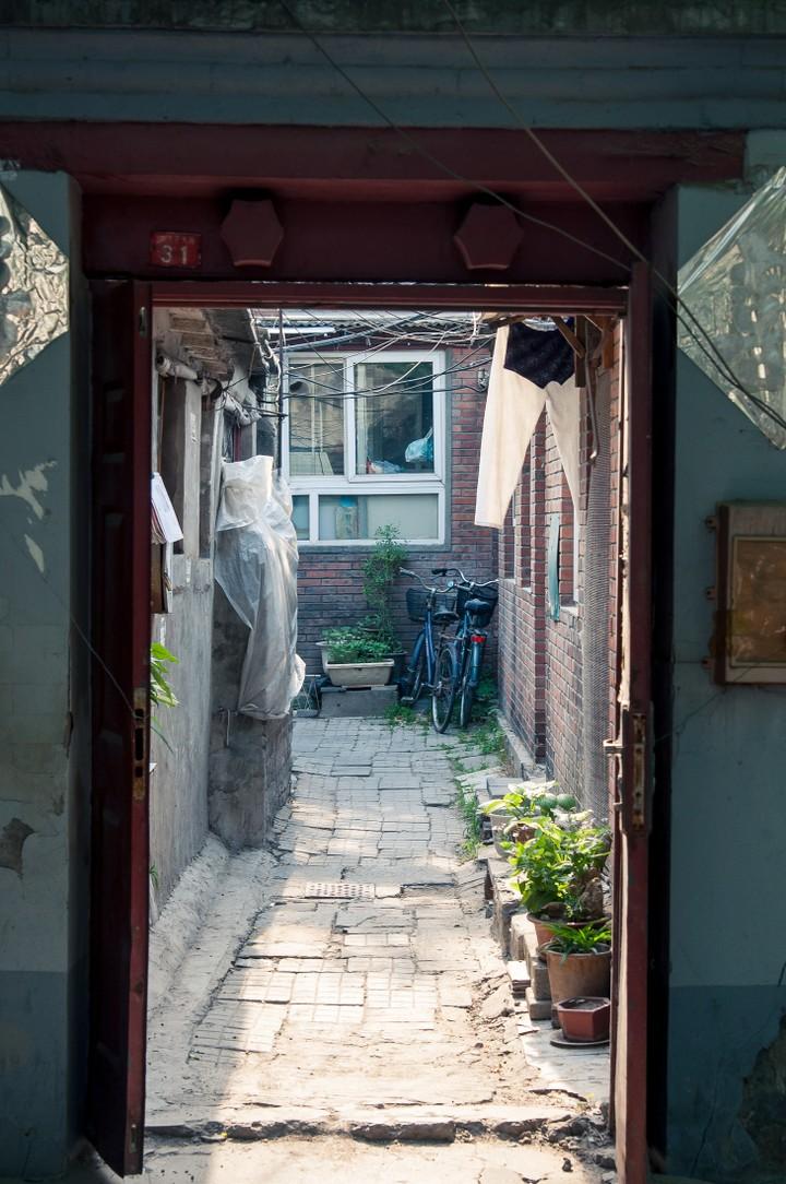 Alley in Beijing