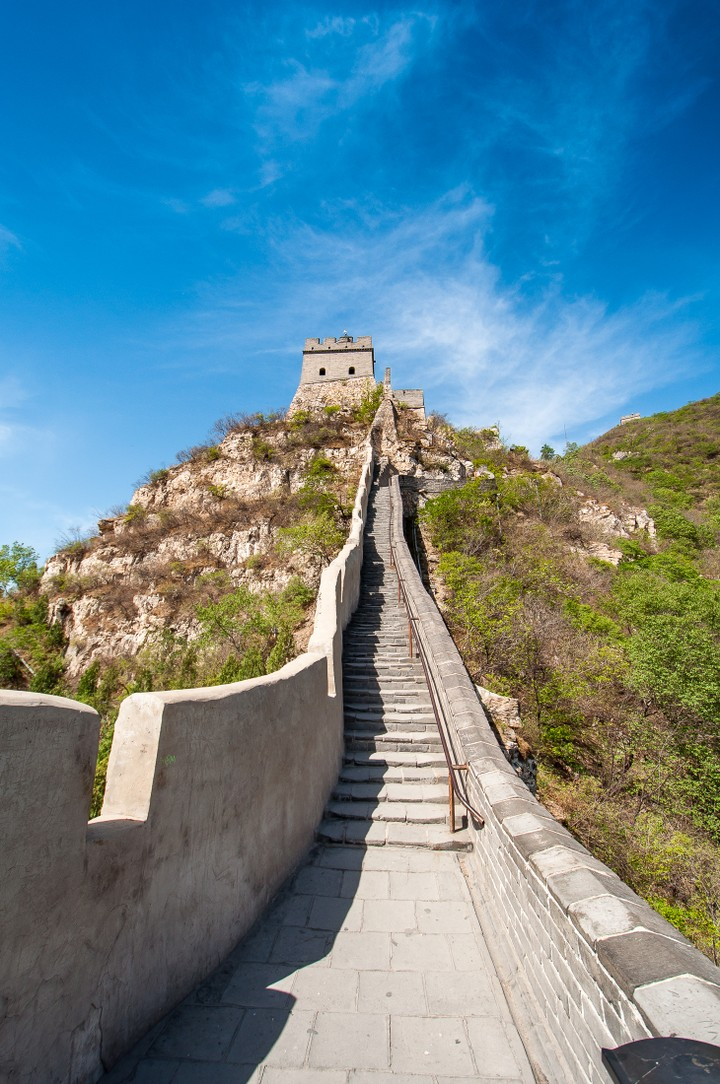 Watch tower at the Great Wall of China