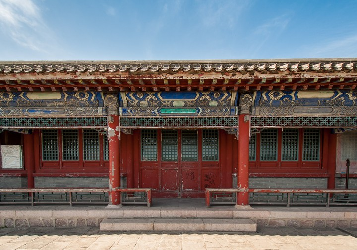 House on the Great Wall of China