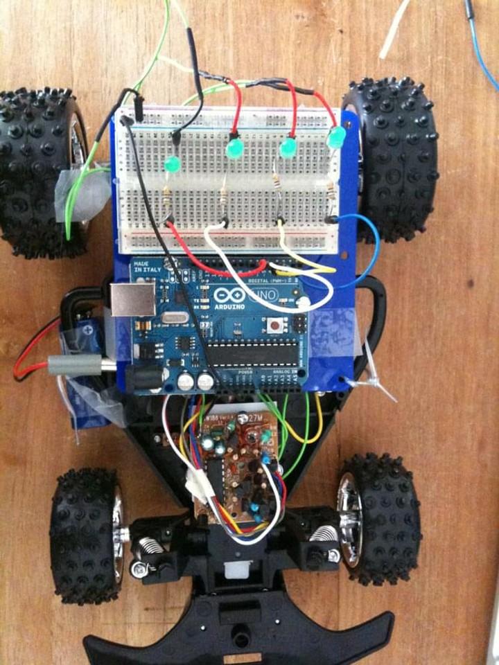 Arduino Wild Hopper RC Car