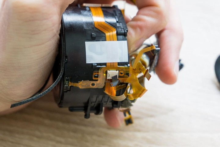 Sony RX-100 Lens assembly
