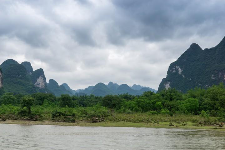 The Li River near Guilin