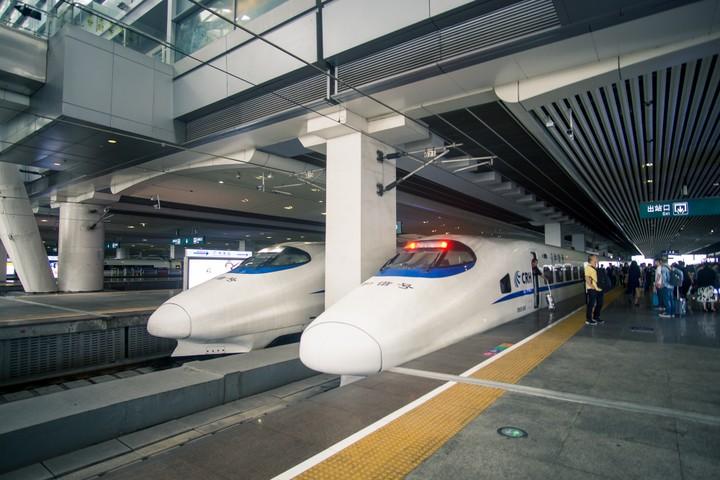 China High Speed Rail Trains