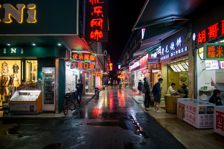 Guilin streets