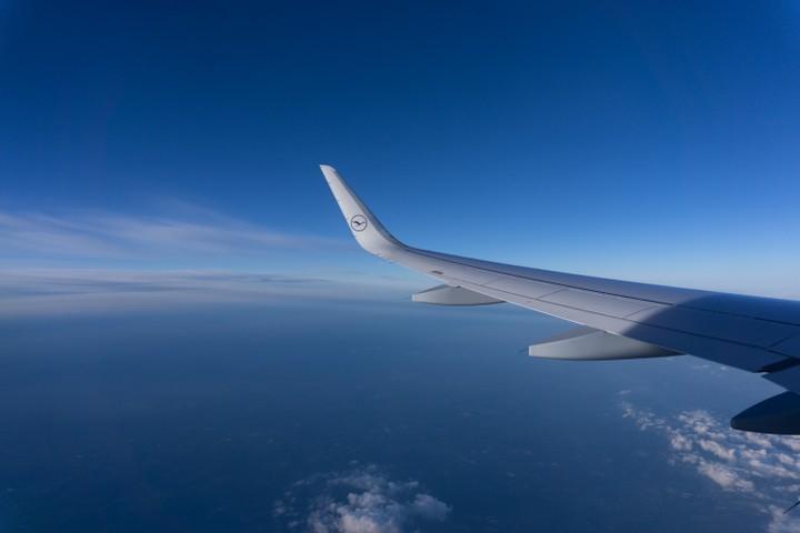 Lufthansa to Frankfurt