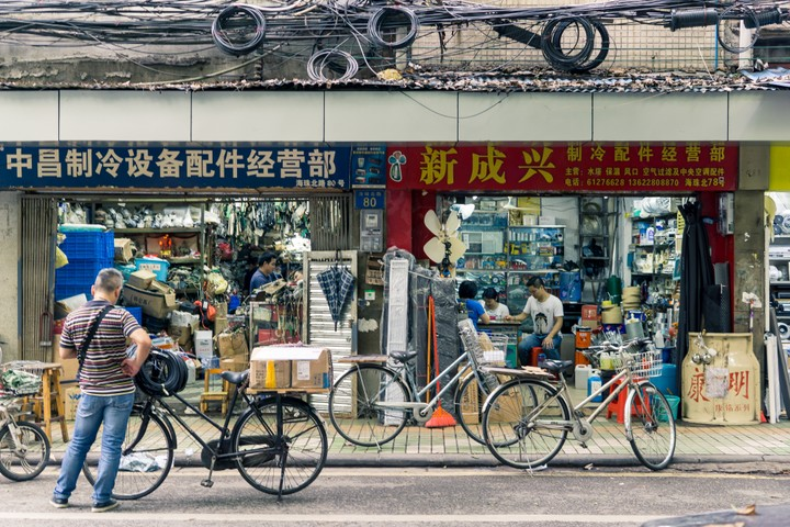 Shops in Guangzhou
