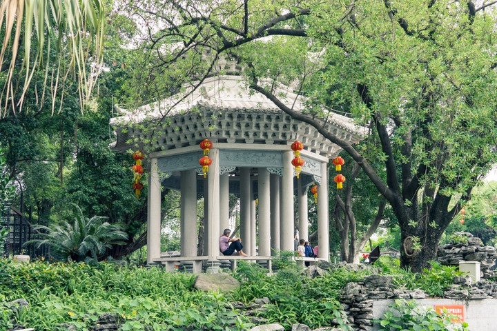 Place to rest in Guangzhou
