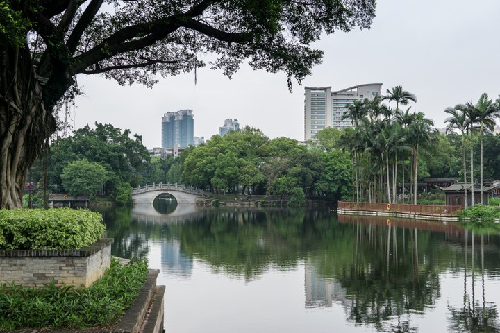 Lake in Guangzhou