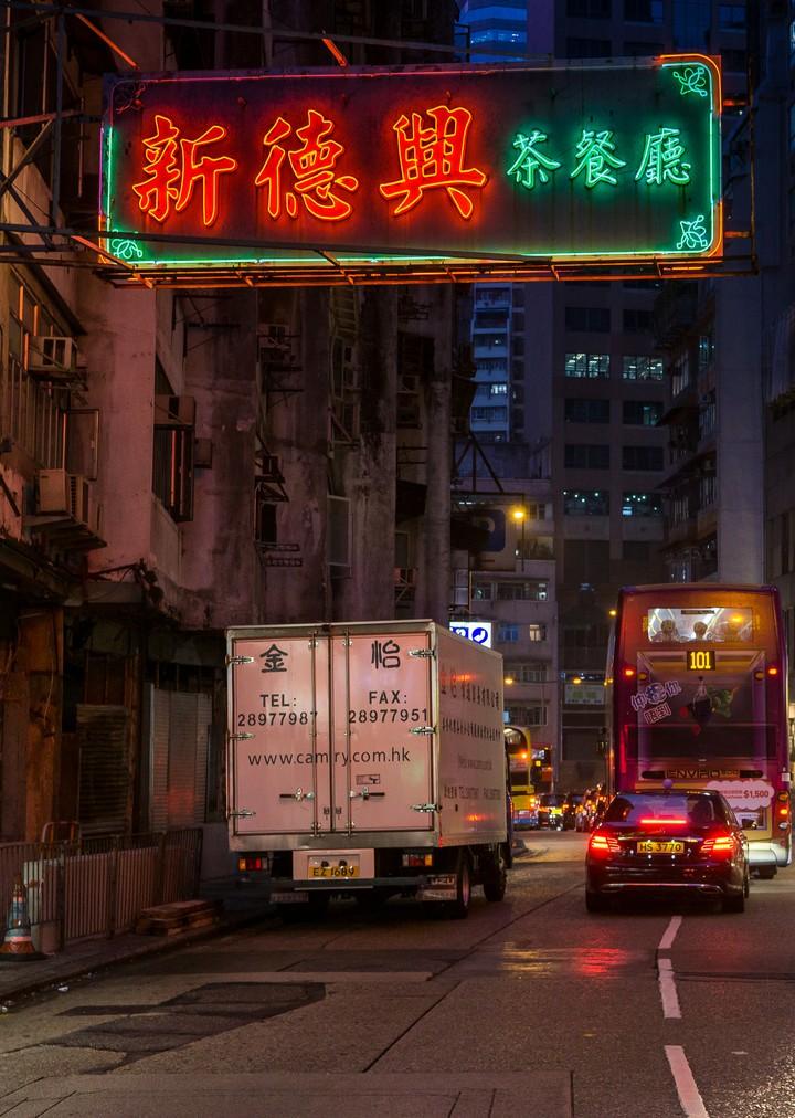 Hong Kong lighting