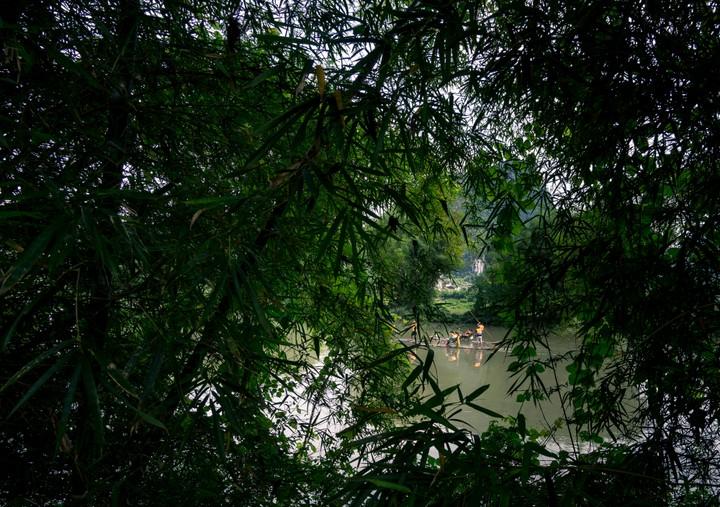 River floats near Yangshuo