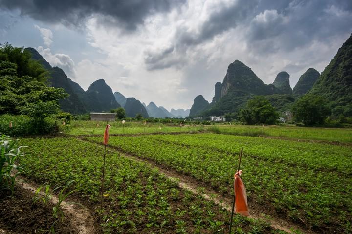 Valley near Yangshuo