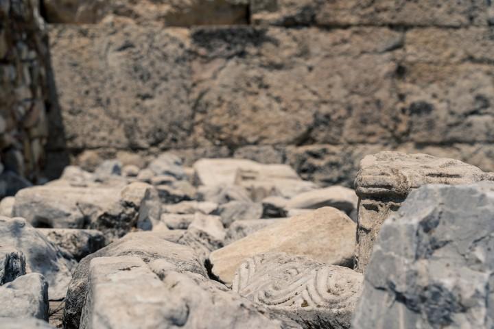 Hadrianus Library remnants