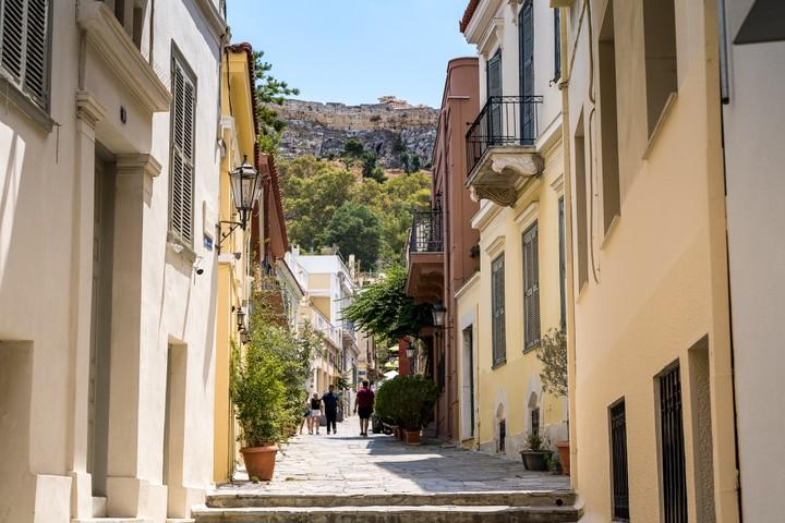 Monastiraki Square alleys