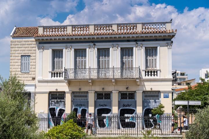 Old greek building