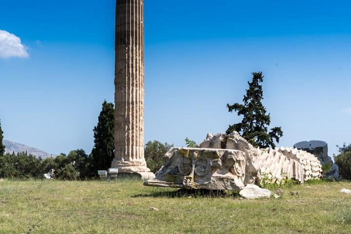 Temple of the Olympische Zeus