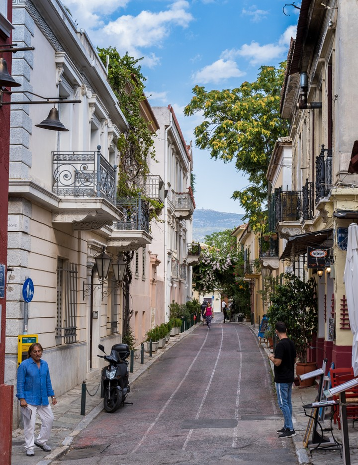 Athens streets