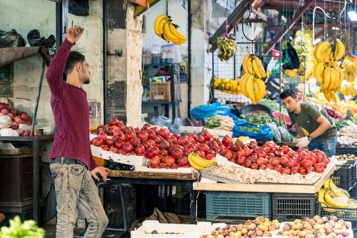 Fruit market Amman